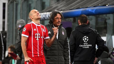 Bayern's Robben out of Gladbach clash