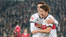 Arsenal loanee Asano salvages Stuttgart draw
