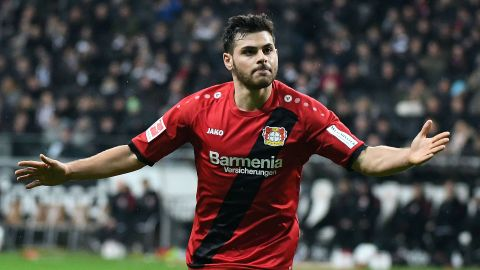 Volland strike extends Leverkusen's unbeaten run