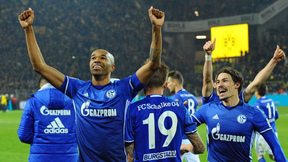Bundesliga Borussia Dortmund 4 4 Schalke As It Happened