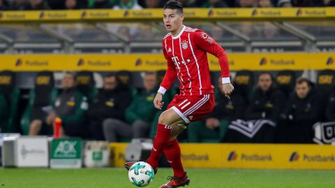 "Bayern's James ""feeling better"" after collision"