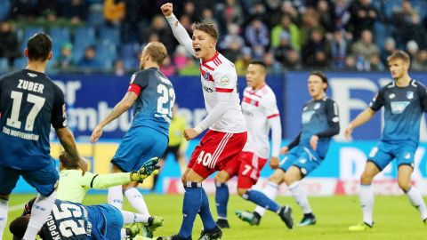 Hamburg 3-0 Hoffenheim: As it happened!