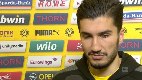"Watch: Sahin ""at a loss for words"""