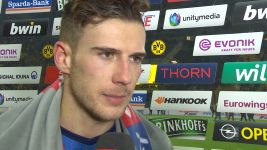 "Watch: Goretzka ""happy and overwhelmed"""