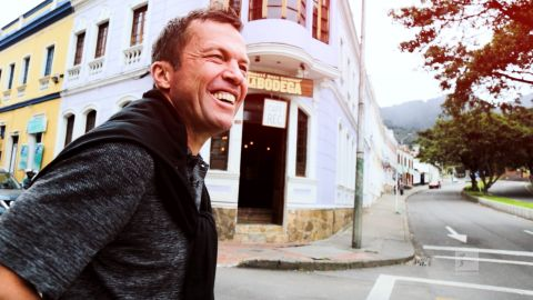 Watch: Bundesliga Legend Matthäus in Colombia