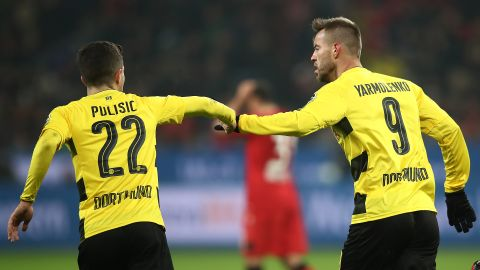 Leverkusen 1-1 Dortmund: As it happened!