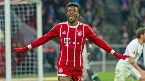 'King Coman' gunning for PSG