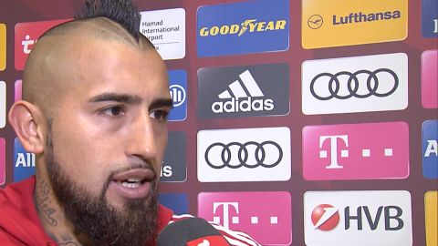 "Watch: Vidal ""We always knew we could win"""