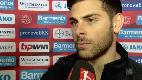 "Watch: Volland: ""We're a tough team to beat"""
