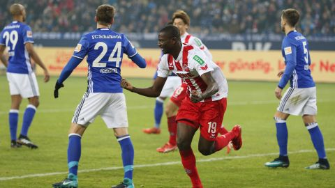 Schalke pegged back by Cologne