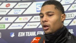 "Watch: Gnabry ""Luckily both goals went in"""