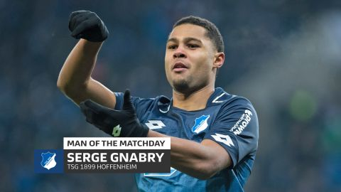 Serge Gnabry: MD14's Man of the Matchday