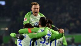 Wolfsburg 3-0 Gladbach - as it happened