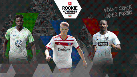 The Bundesliga Rookie Award nominees: November