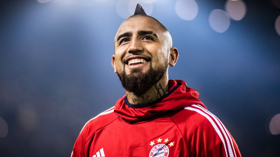 online retailer 6d16f 65358 Bundesliga   10 Things on Bayern Munich and Chile's Arturo Vidal