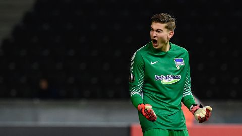 Klinsmann saves penalty on Hertha debut