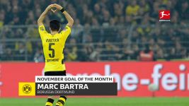 Watch: Bartra's Goal of the Month Winner