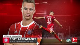 Ton-up for Joshua Kimmich