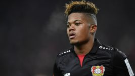 Leon Bailey showing his class for Bayer Leverkusen