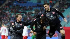 Mainz dent Leipzig's hopes