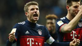 Bayern Munich top the table at Christmas