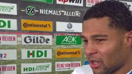 "Watch: Gnabry: ""Hard to play in the snow"""