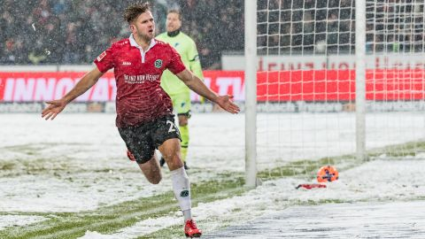 Hannover narrow gap on Hoffenheim