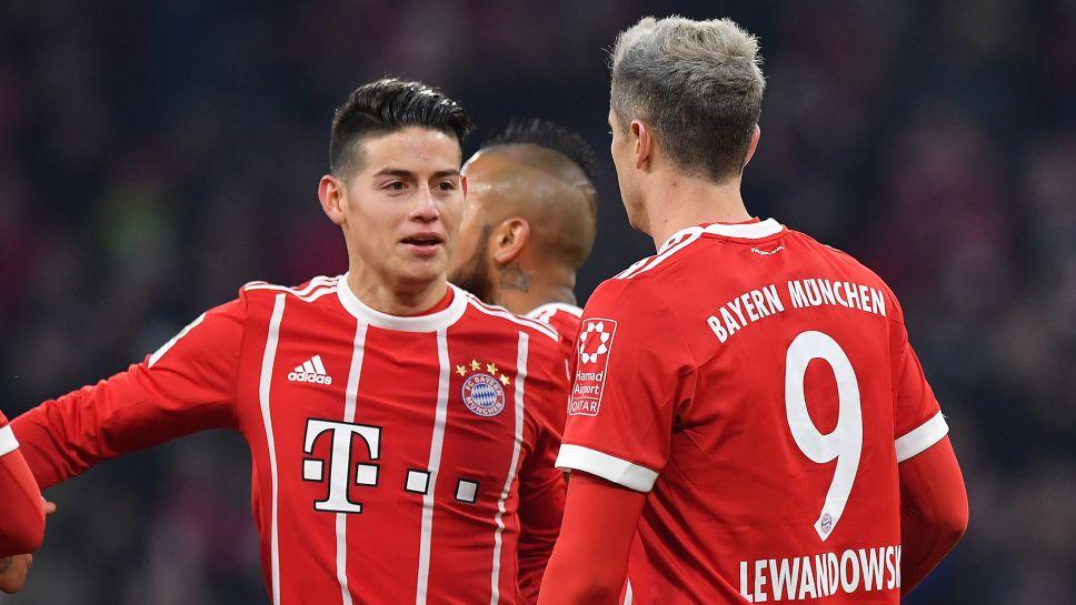 Image result for Bayern Munich vs Besiktas 2018
