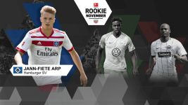 Arp named Rookie of the Month