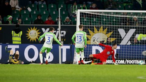Wolfsburg 1-1 Leipzig: As it happened!