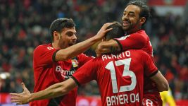 Alario leads in-form Leverkusen past Bremen