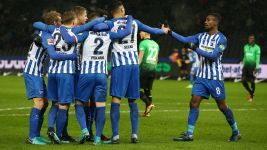 Kalou brace gives Hertha a big home win