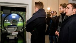 Reus and Götze help unveil new BVB MRI scanner