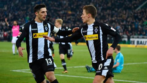 Gladbach too hot for Hamburg
