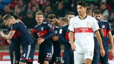 Stuttgart 0-1 Bayern - As it happened!