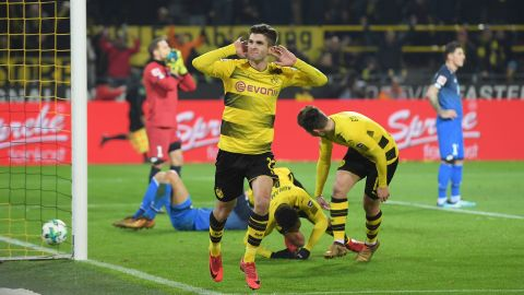Pulisic magic helps BVB beat Hoffenheim