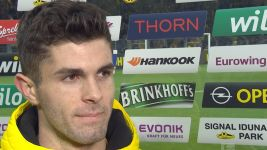 "Watch: Pulisic ""Shinji played a perfect ball"""