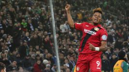 Bailey fires Leverkusen into DFB Cup last eight