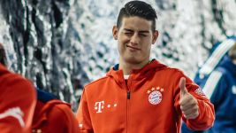 "James Rodriguez: ""I'm really happy at Bayern"""