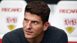 Watch: Mario Gomez returns home