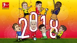 Happy New Year from the Bundesliga stars