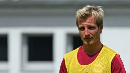 Colorado's Stefan Aigner training with Hoffenheim