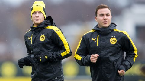 Reus to be at BVB training camp as Götze returns