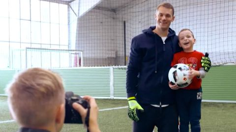 Watch: Manuel Neuer Kids Foundation