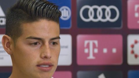 "Watch: James ""The Bundesliga's a top league"""