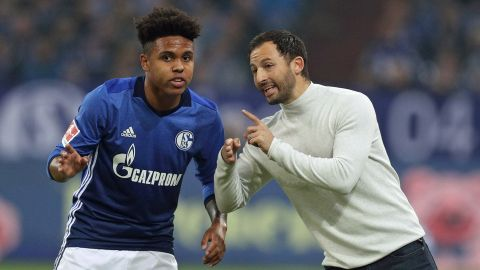 Tedesco tries out Weston McKennie at centre-back