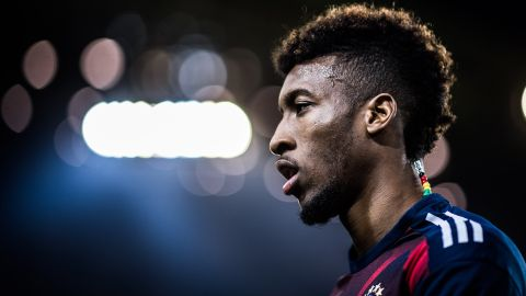 Bayern's Kingsley Coman provides food for thought