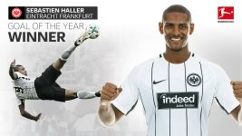 Sebastien Haller erzielt das Goal of the Year 2017