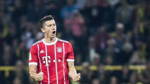 Watch: All Lewandowski's 2017/18 goals so far!