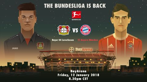 Leverkusen and Bayern set for Friday fireworks
